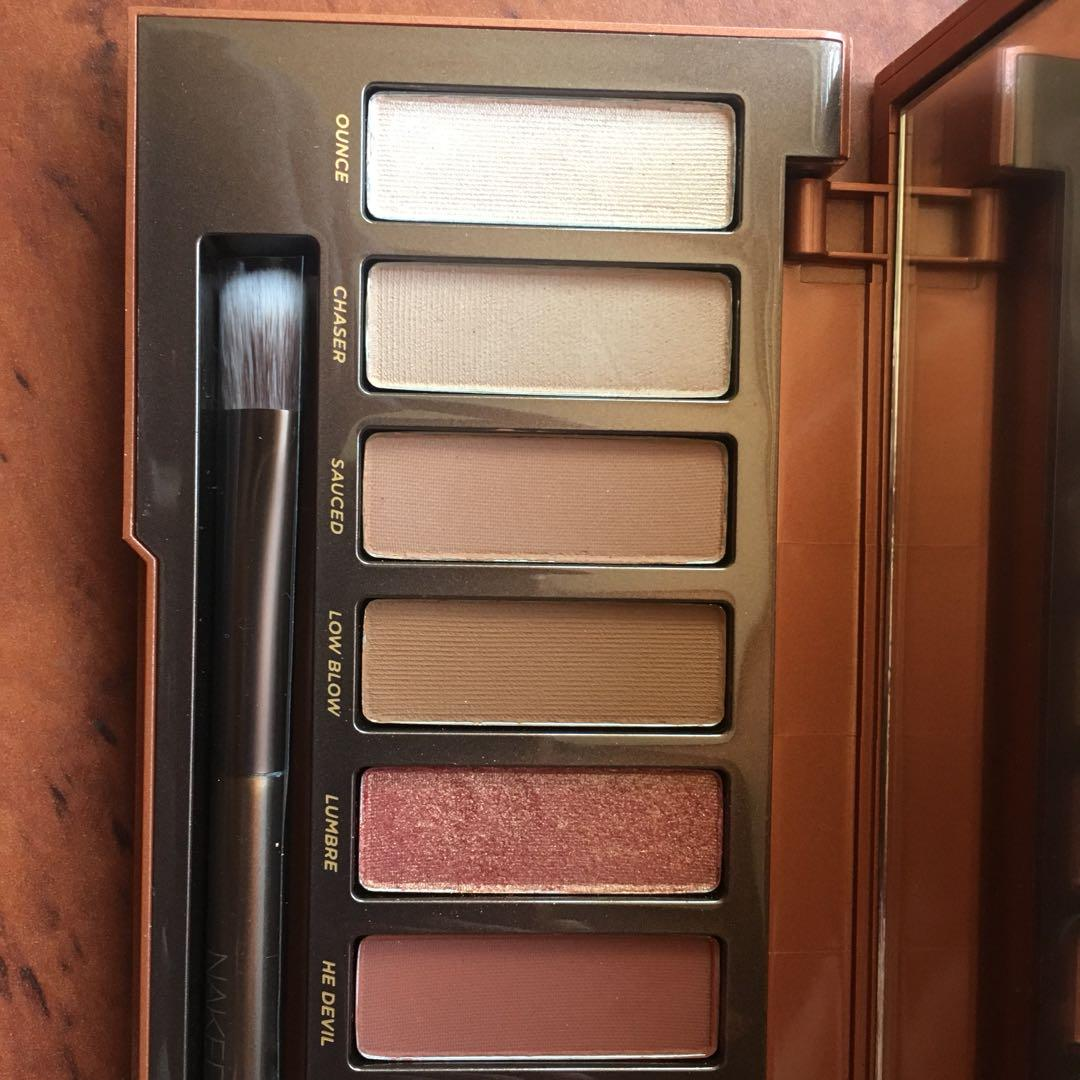 Barely Used Urban Decay Naked Heat Palette