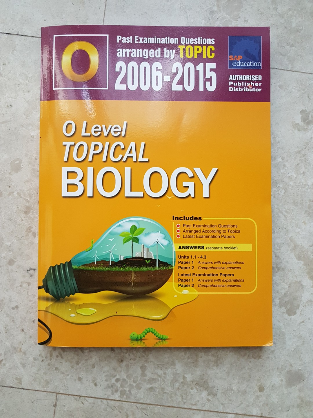 Biology Topical Past Papers (2006-2015)