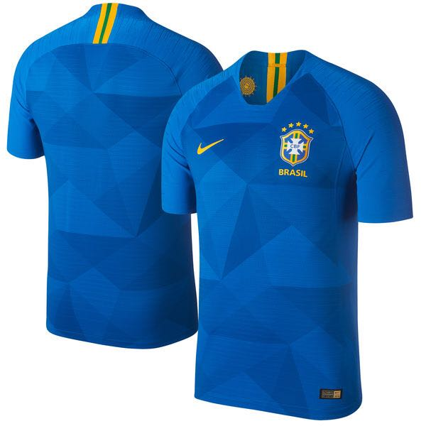 b0a5be5d3 Brazil 2018 World Cup Away Jersey