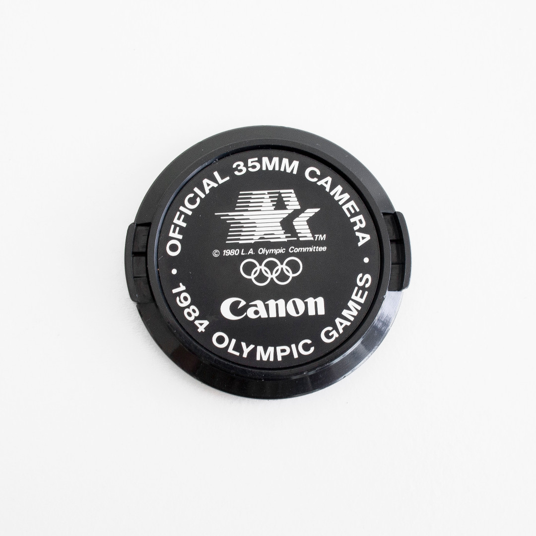 Canon Fd 52mm Commemorative Lens Cap 1984 Olympics Games Photo