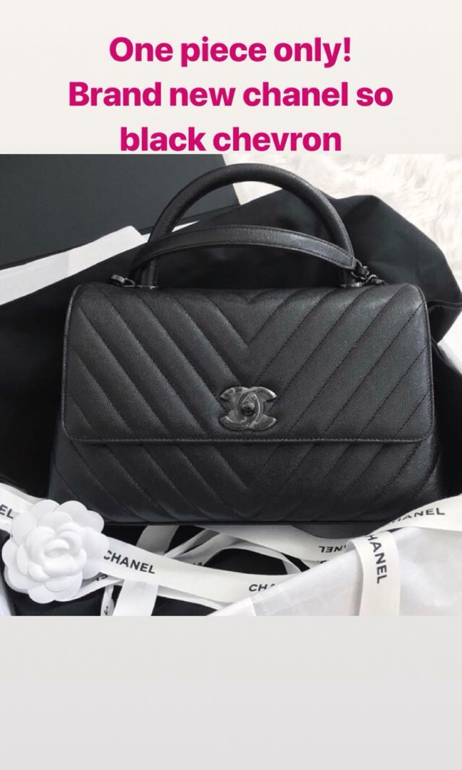 a6b41a3d4d30 Chanel Coco Handle, Luxury, Bags & Wallets, Sling Bags on Carousell