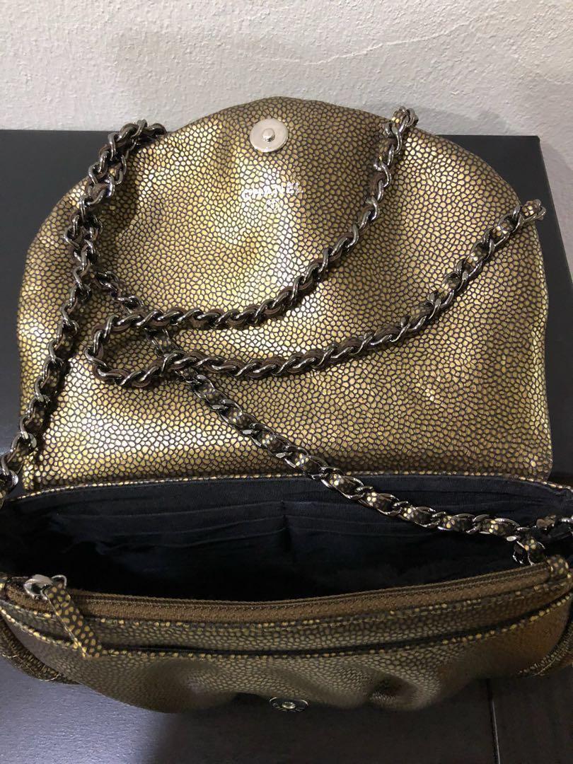 12fe5872c2dc Chanel half moon WOC, Women's Fashion, Bags & Wallets, Handbags on Carousell