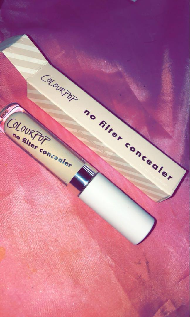 colourpop no filter concealer - light 10