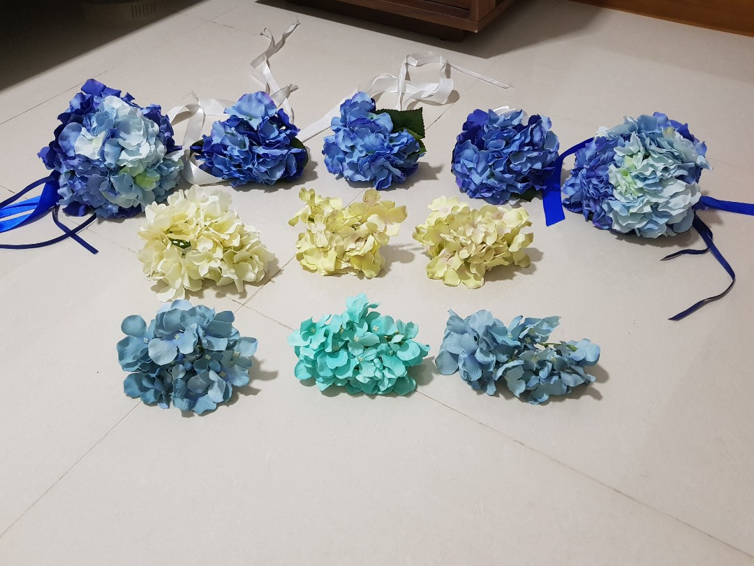 Fake Flowers For Wedding Decoration Design Craft Others On Carousell