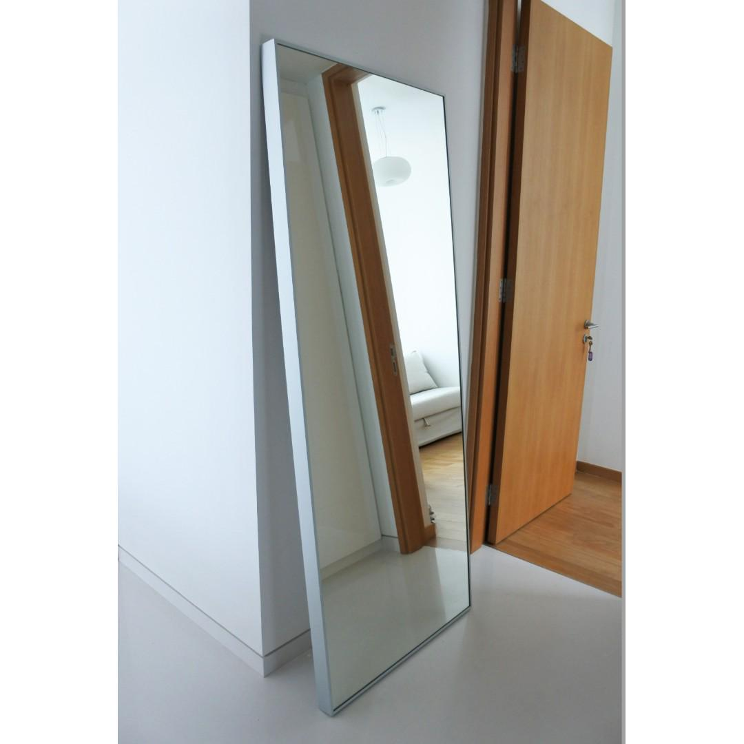 Full Length Mirror Ikea Hovet Furniture Others On Carousell