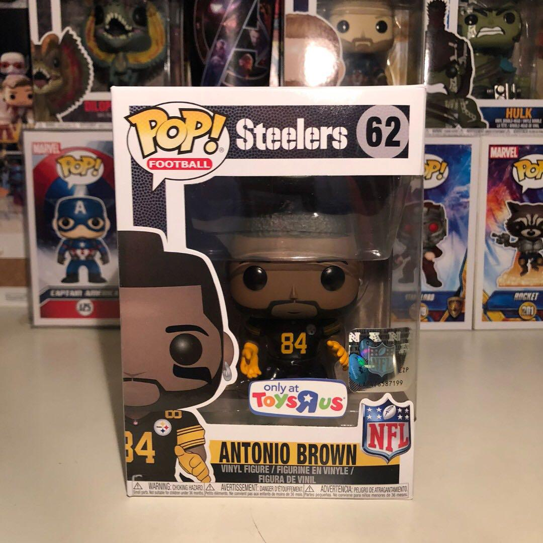 pick up b5d67 c7aa7 Funko Pop NFL: Antonio Brown (Steelers Color Rush) (Toys ' R ...