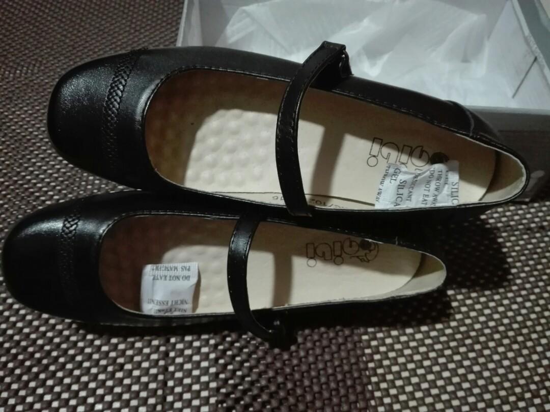 gibi black shoes price