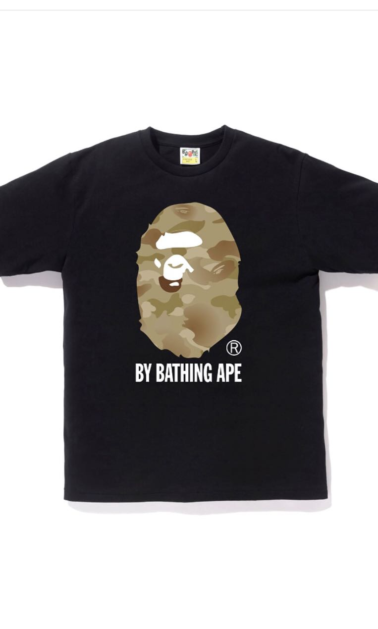 6562d867 Gradation Camo by bathing ape, Men's Fashion, Clothes, Tops on Carousell