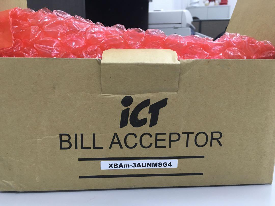 ICT Bill Acceptor / Validator (XBA-mini) For Vending Machine