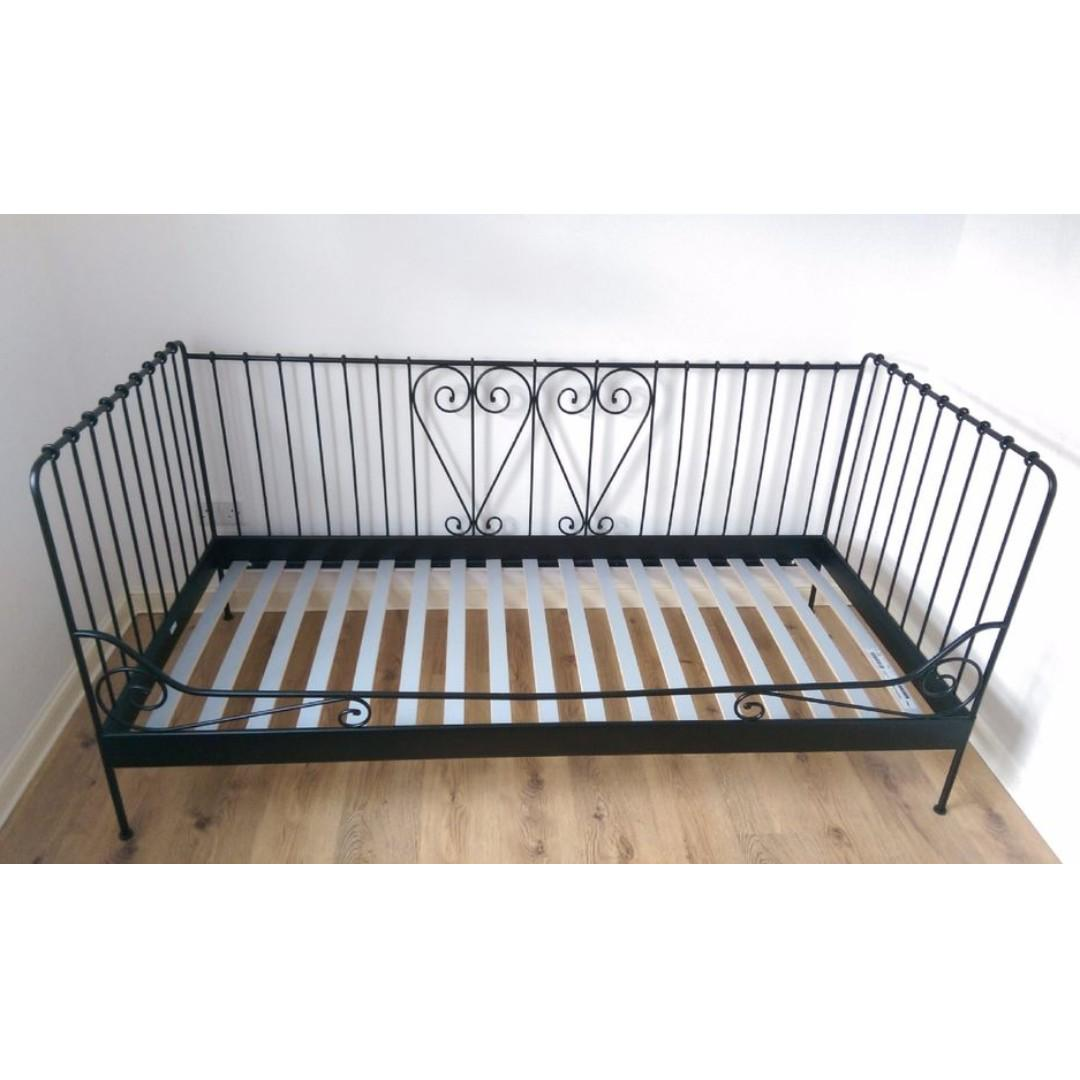 - Ikea Meldal Black Daybed, Furniture, Beds & Mattresses On Carousell