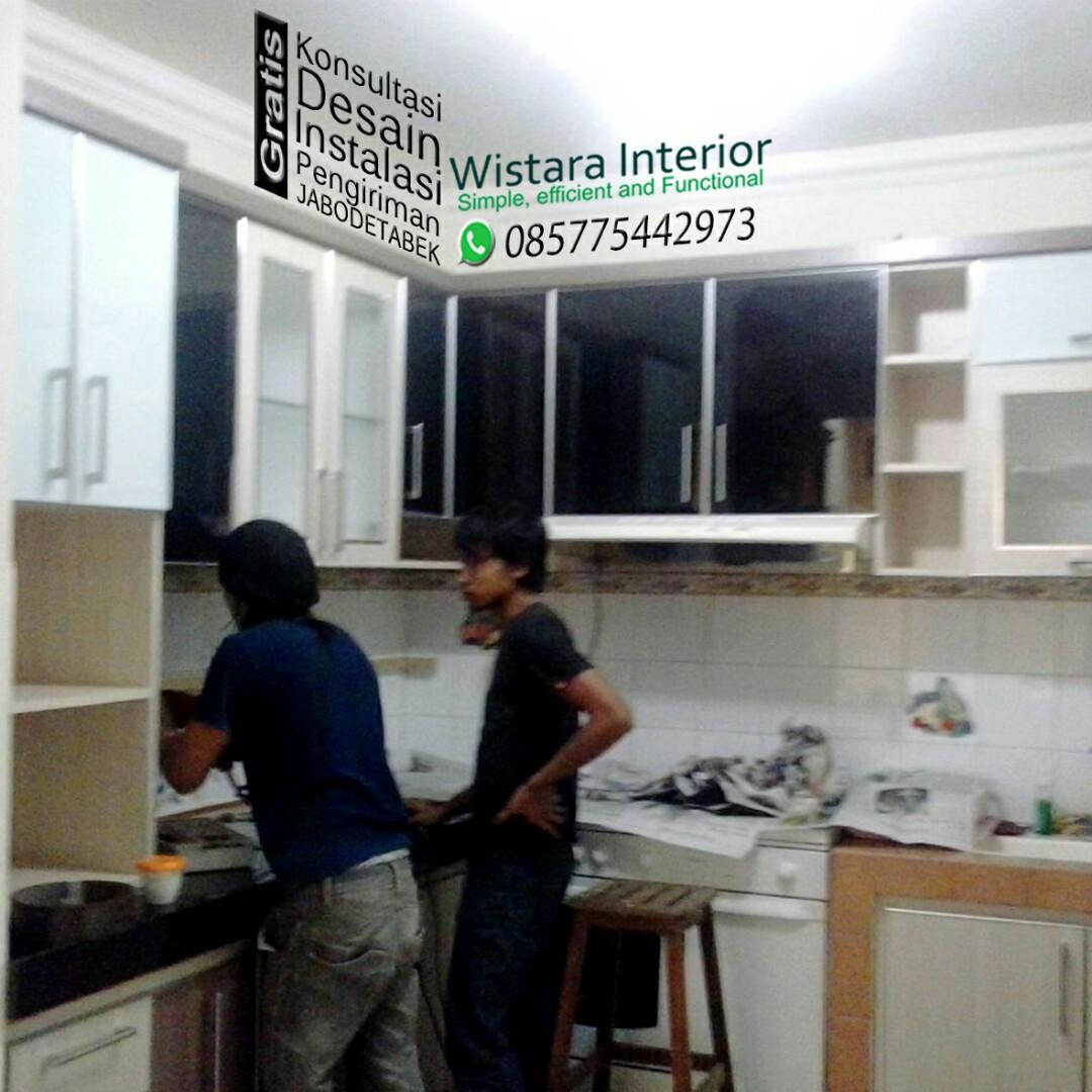 Kitchen set custom jakarta timur home furniture on carousell