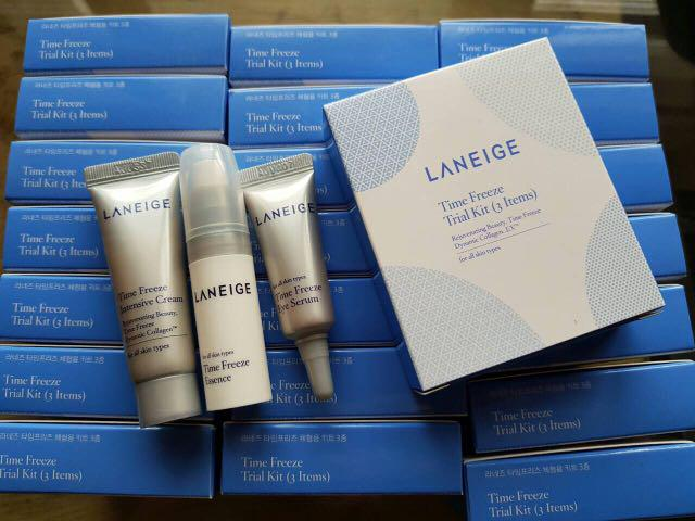 LANEIGE TIME FREEZE TRIAL KIT (3 ITEMS) on Carousell