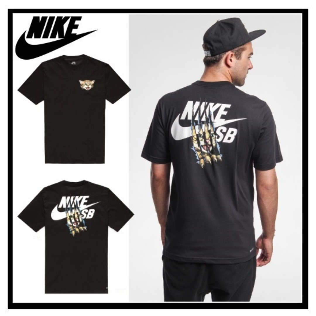 8aa00e41c *LIMITED EDITION* Nike SB QT Cat Scratch 15 Dri-Fit T-Shirt, Men's Fashion,  Clothes, Tops on Carousell
