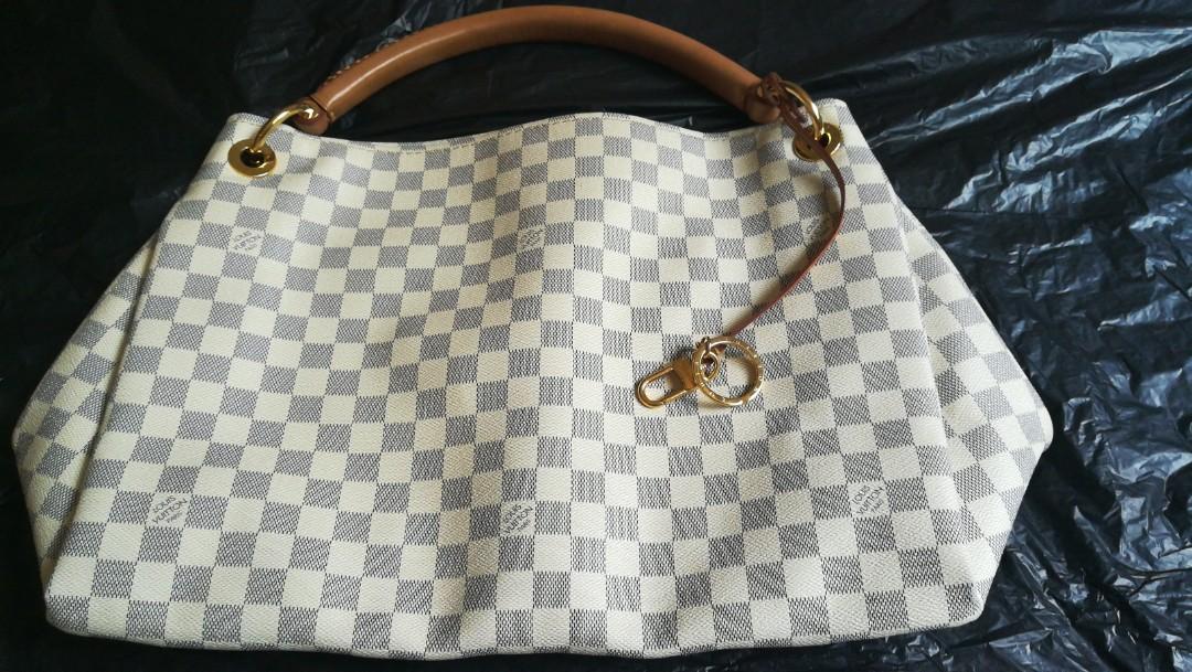 Louis Vuitton Artsy Damier Azur Luxury Bags Wallets Handbags On
