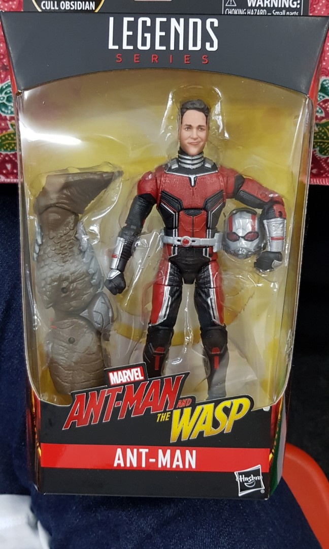 Marvel legends hasbro baf cull obsidian ant man infinity