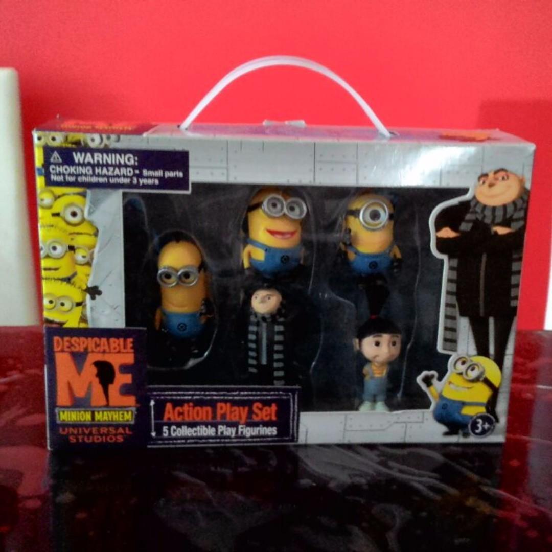 fd2c3093d5 Minion figurines Play Set