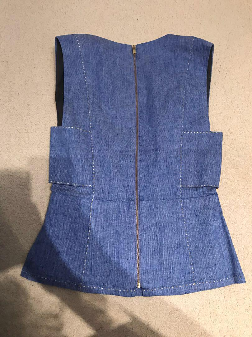 New Seed Heritage Denim Top