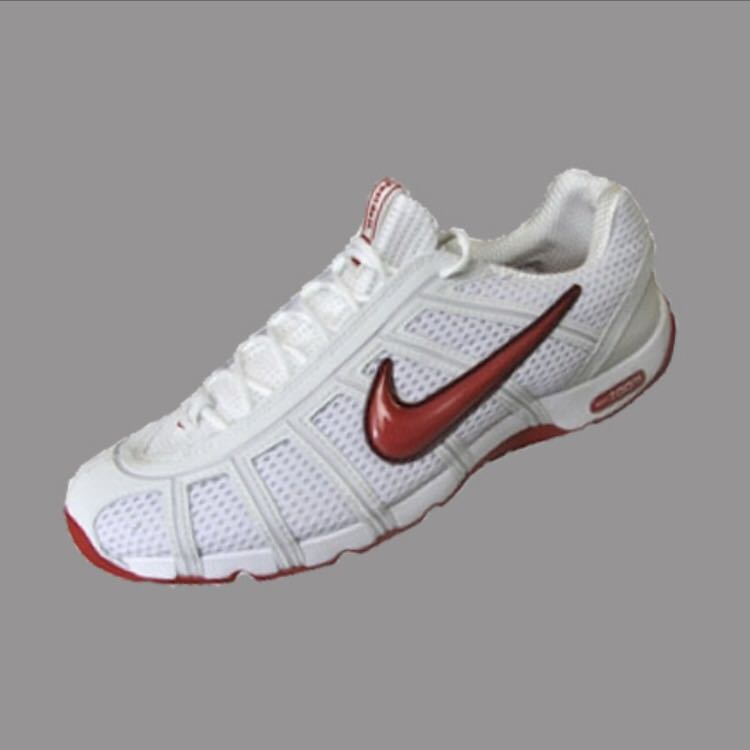 d959b5c2c928 NIKE AIR ZOOM FENCING SHOES - Red   White
