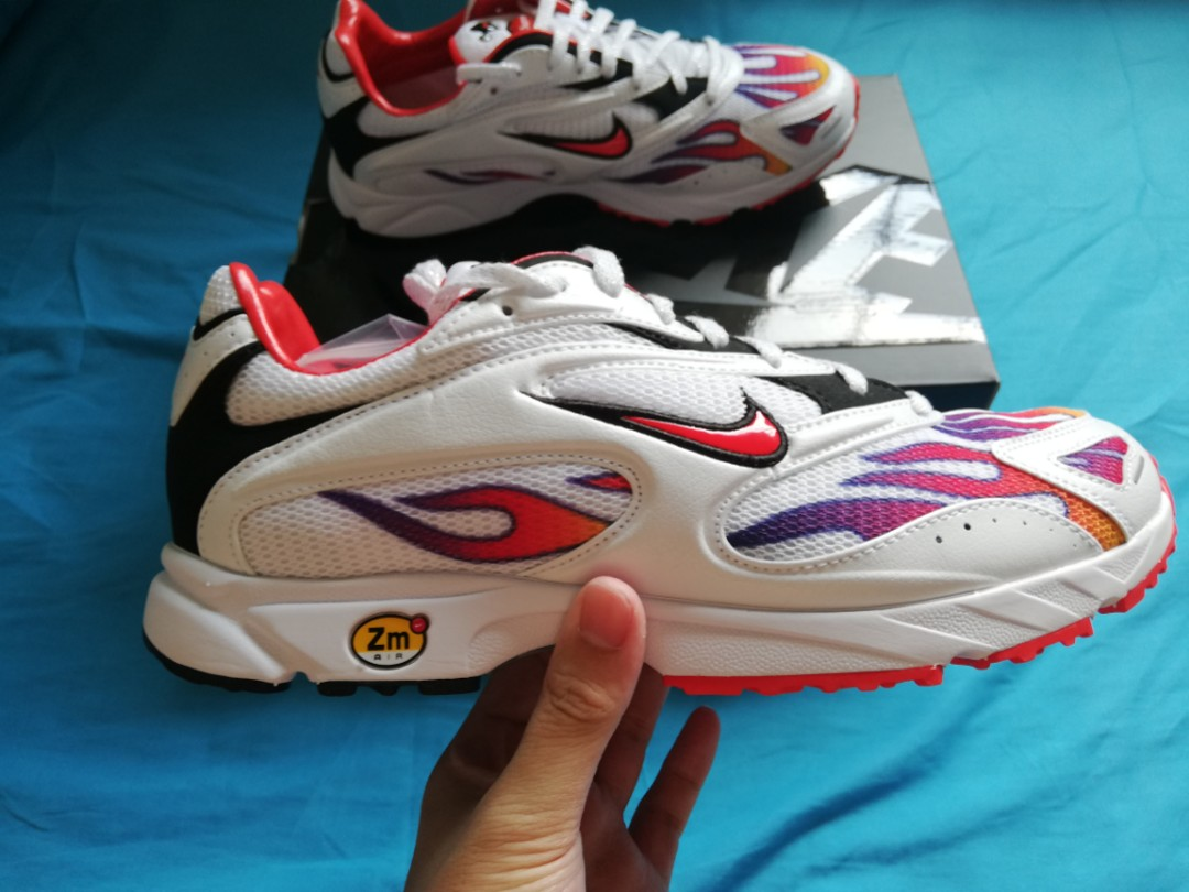 Nike x Supreme Zoom Streak Spectrum Plus White c39f4d0c8
