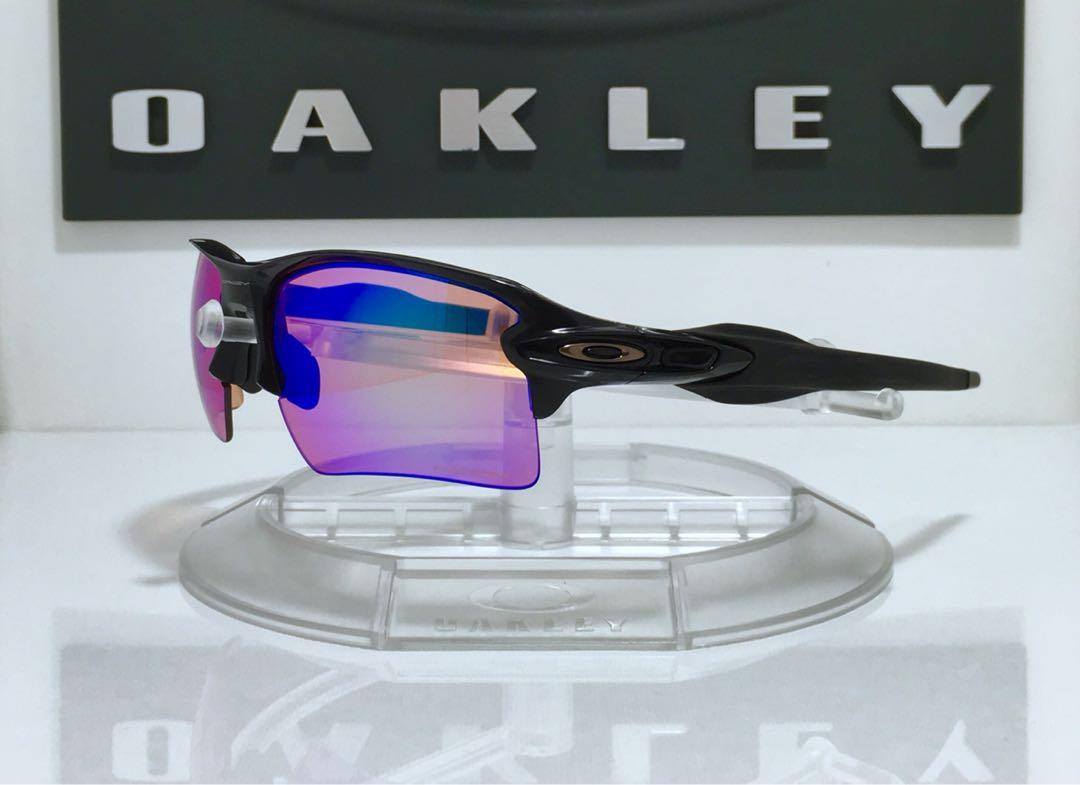 2c4a45c6ab Oakley Flak 2.0 XL Polished Black Frame with Prizm Golf Lenses ...