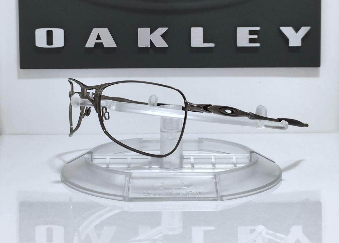1f668997a Oakley Blender Sunglasses Chrome & Silver Ghost Text Black Iridium ...