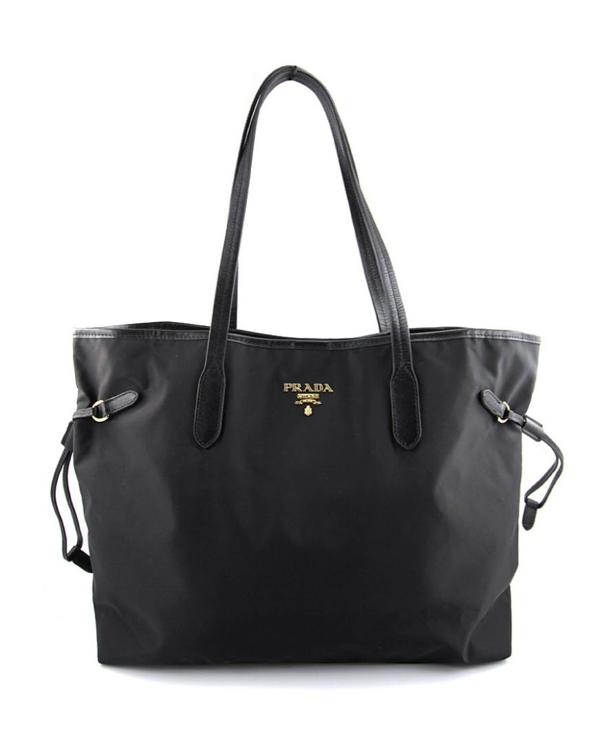 0db90a0717f7 Prada tessuto saffiano shopping tote bag(bleu), Luxury, Bags ...