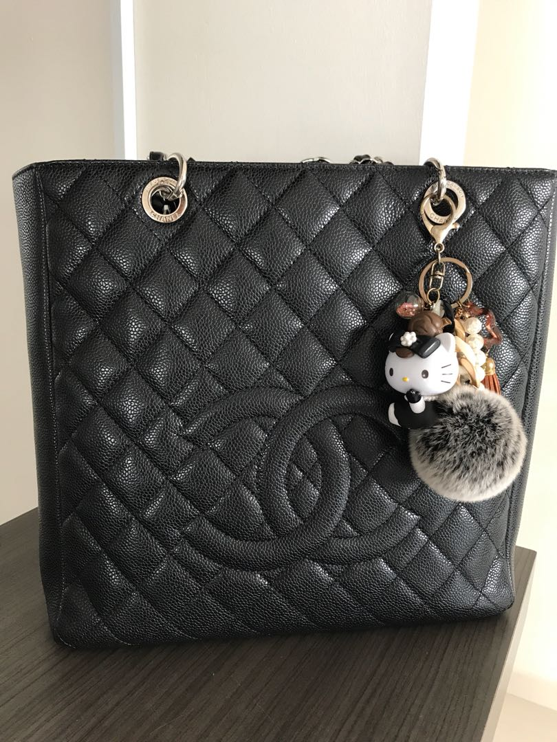 cc91f8d27172 Preloved Chanel PST XL, Luxury, Bags & Wallets, Handbags on Carousell