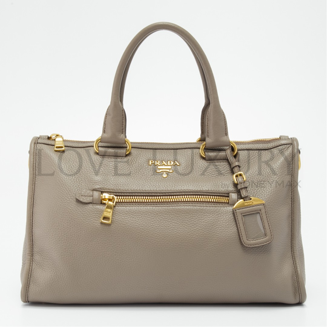 f19f82a81a5b69 Preowned Prada, Vitello Daino Top-Handle Bag - BL0805 (POB0006439 ...