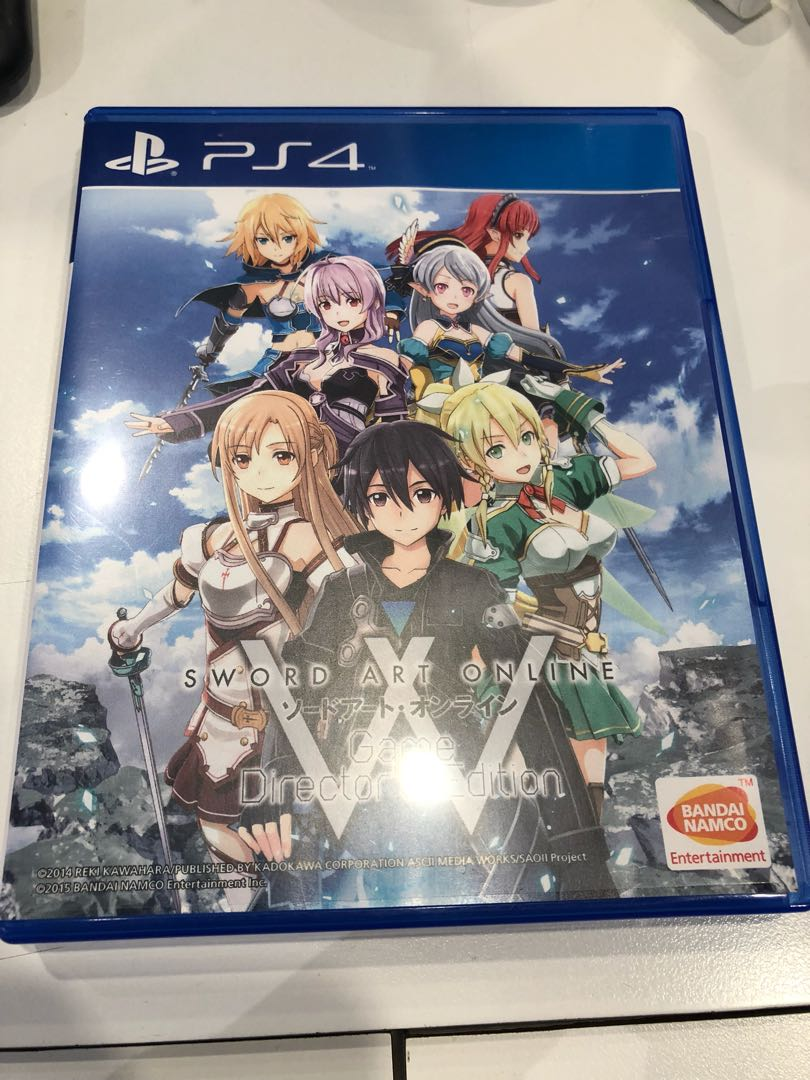 Ps4 sword art online