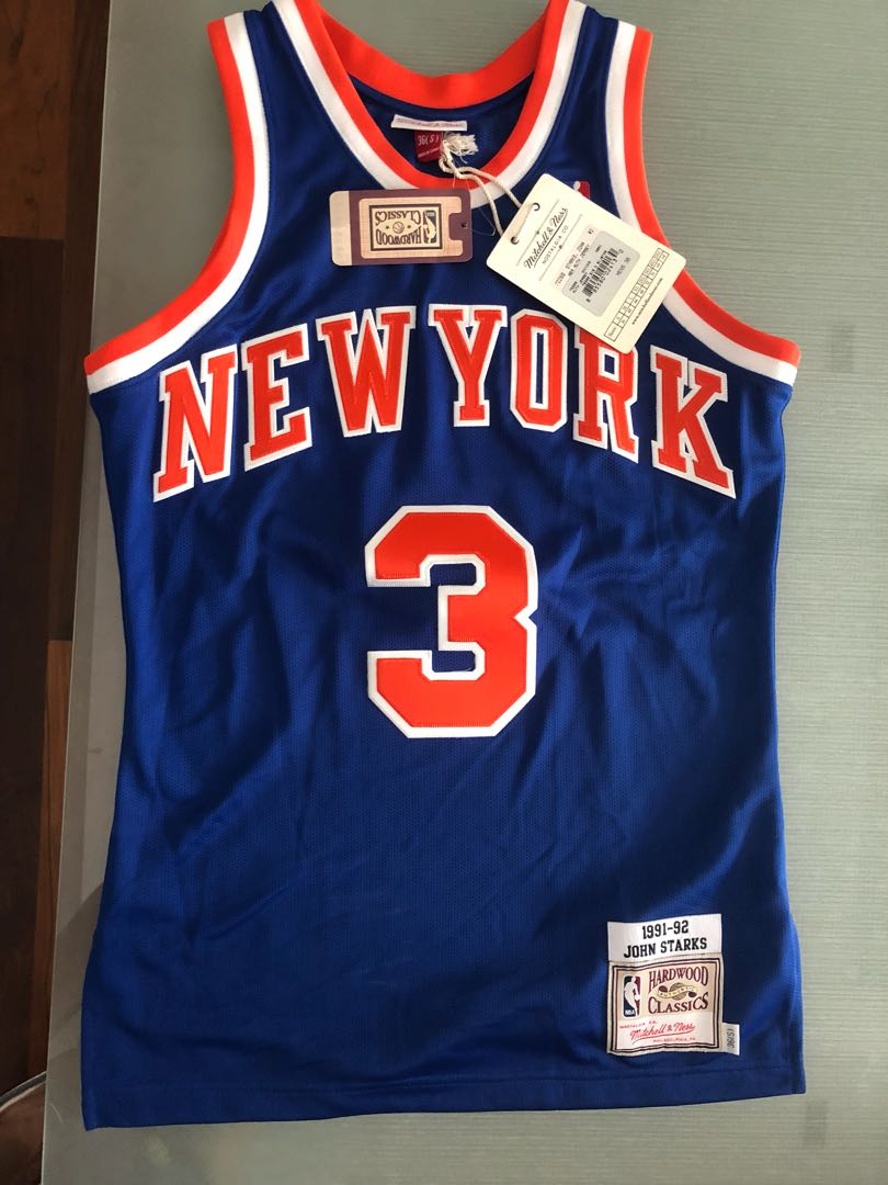 info for 21117 69816 Rare! John Starks Jersey Mitchell and Ness M&N Knicks size ...
