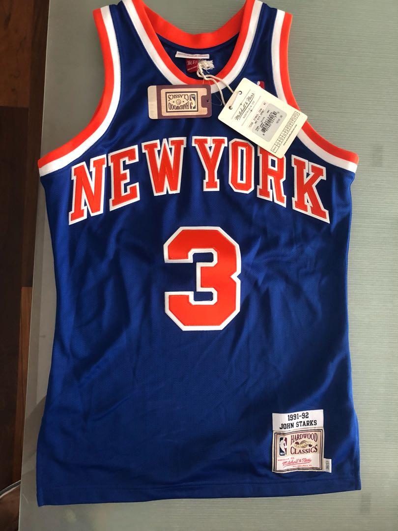 cc07e567eb1 Rare! John Starks Jersey Mitchell and Ness M&N Knicks size 36 retro ...