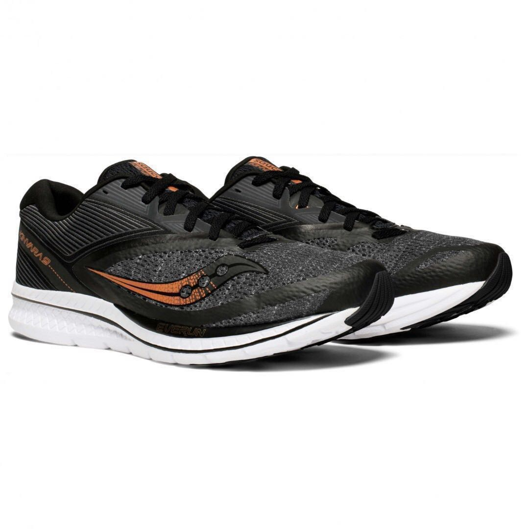 03d8ae8f22 (OOS) Saucony Kinvara 9 Men's Running Shoes Runners black denim sneakers