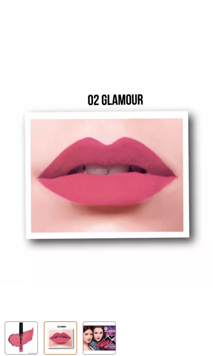 SILKYGIRL Matte Junkie Lip Cream 02 (Glamour) #july70, Health & Beauty,