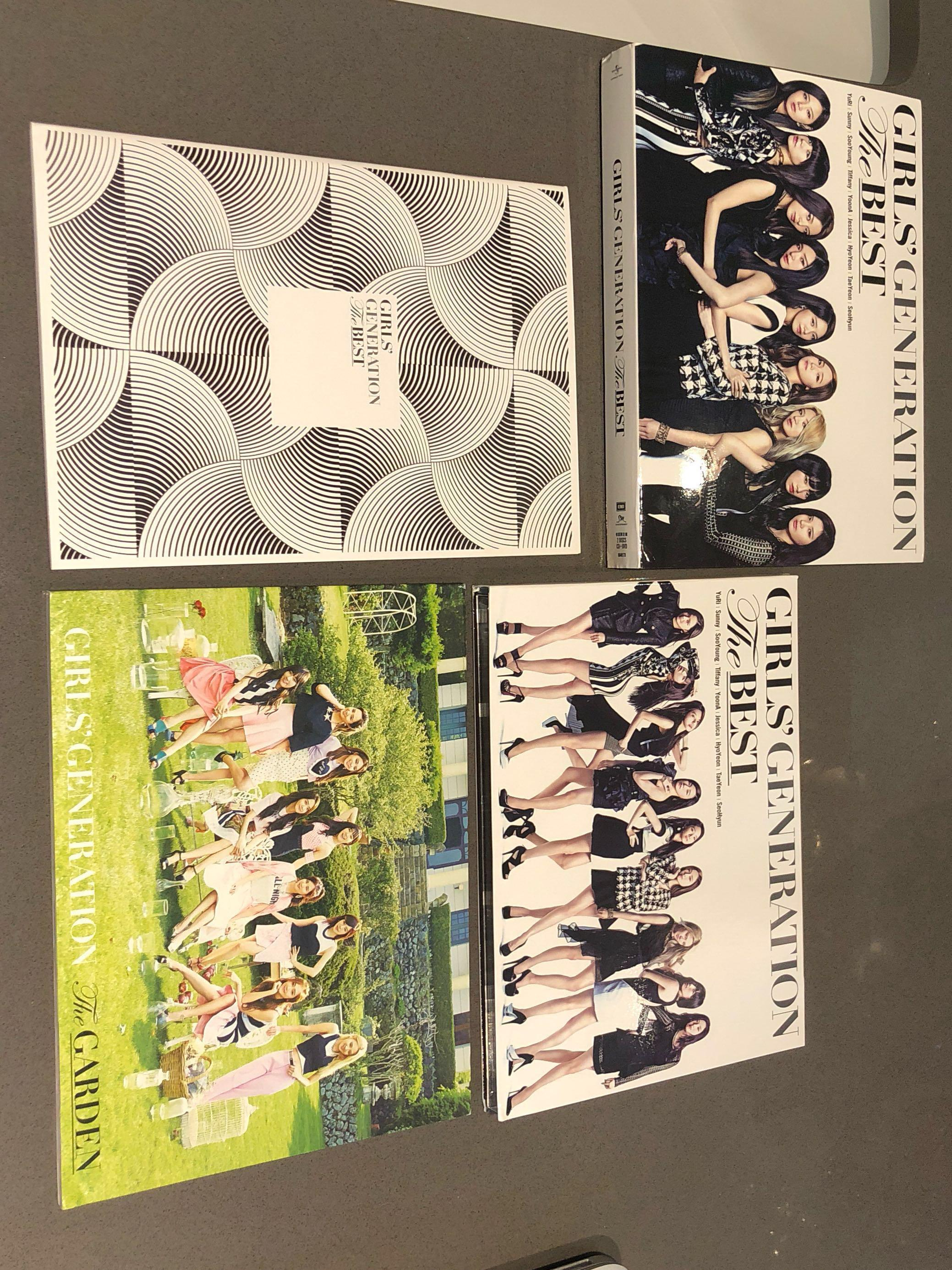 "SNSD The First Limited Edition ""The Best"""
