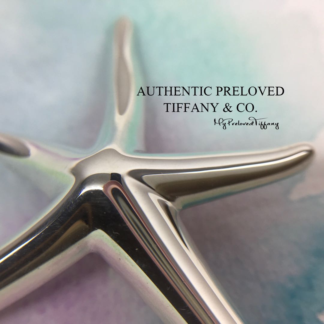 2bee0d019 Mint Authentic Tiffany & Co Elsa Peretti Large Starfish Brooch Silver 65%  off Retail, Women's Fashion, Jewellery, Brooches on Carousell