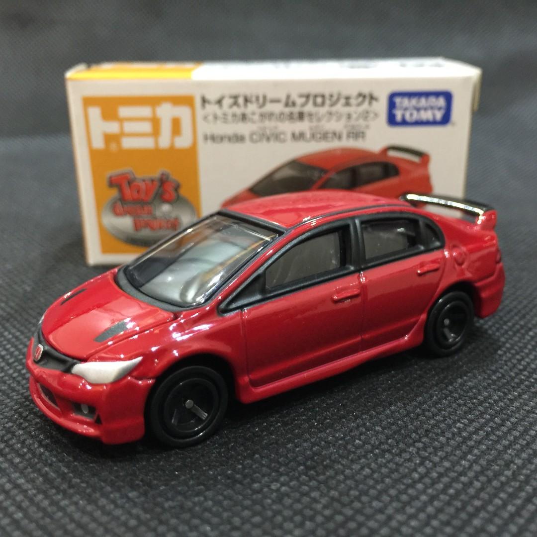 Tomica Honda Civic Mugen RR, Toys U0026 Games, Bricks U0026 Figurines On Carousell