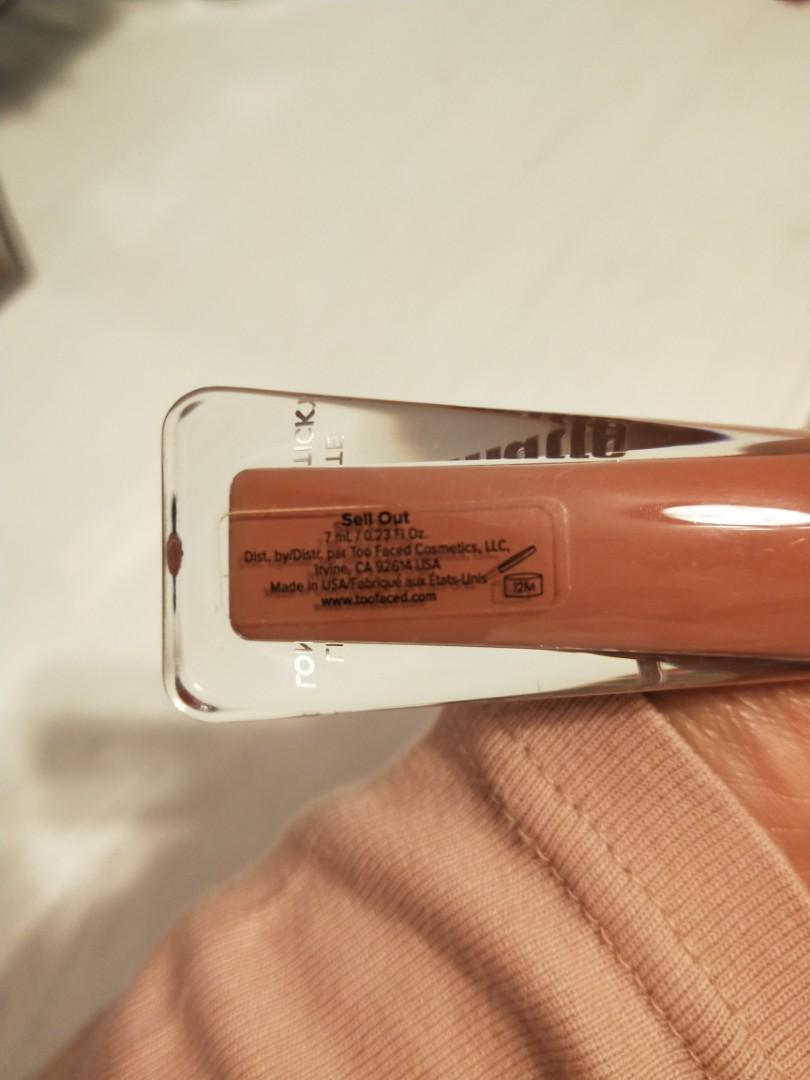 Too faced melted matte liquid lipstick