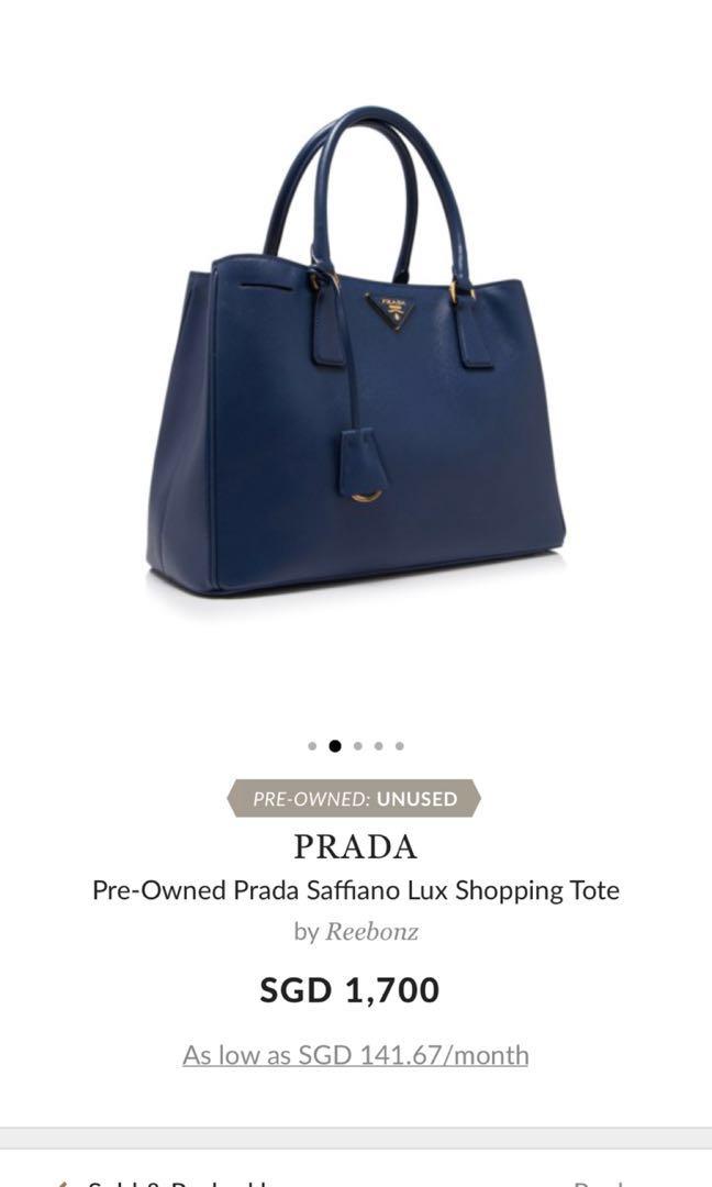 995f5780650c Unused  Prada Shopping Tote