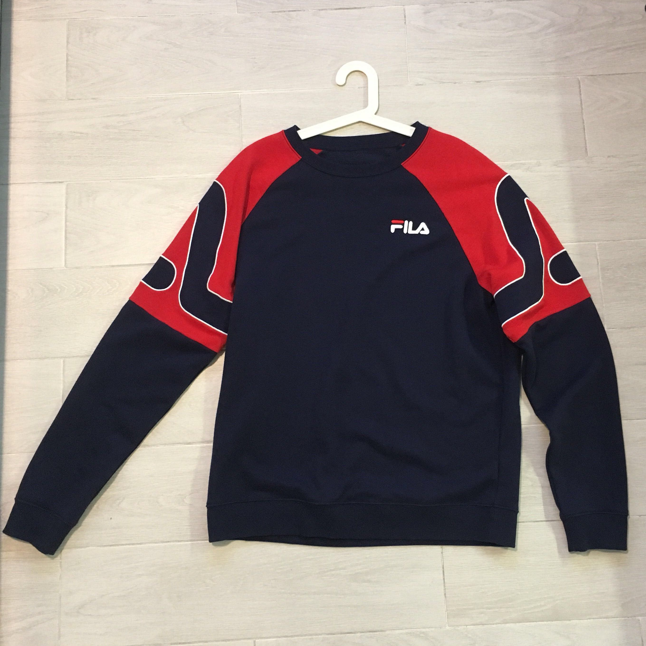 9de6725277b Vintage Fila sweater (inspired!), Men's Fashion, Clothes, Outerwear ...