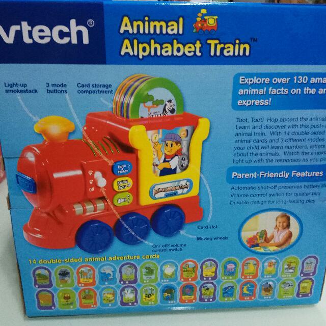平放全新Vtech小火車