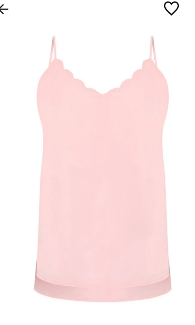 f059f7e9ad620 Zalora Loved Scalloped Cami