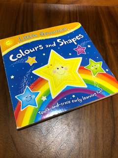 Little Groovers Touch-and-Trace Book - Colours and Shapes