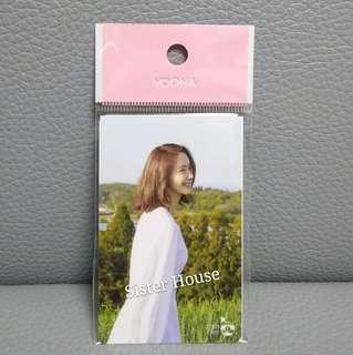 (包郵現貨)🇰🇷少女時代林潤娥/允兒韓國交通卡 Girls' Generation Yoona Cashbee