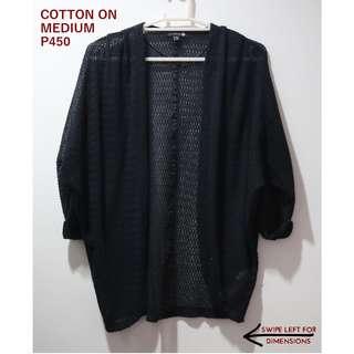 Cotton On Black Cardigan