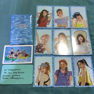 Twice Summer Nights DTNA Official PO Benefit Photocard Set 2