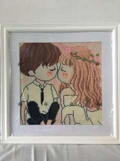 Diamond painting - wedding gift