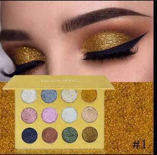 NEW! imagic glitter eyeshadow palette