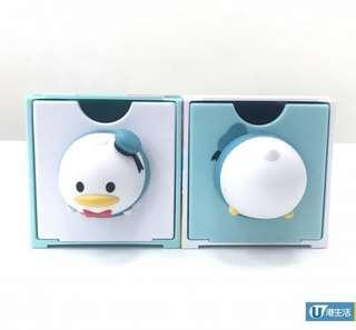 7- eleven 7 -11 × Disney 迪士尼Tsum Tsum 3D造型唐老鴨Donald Duck組合擺設盒子公仔層層疊