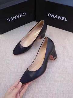 Chanel Classic Block Heels