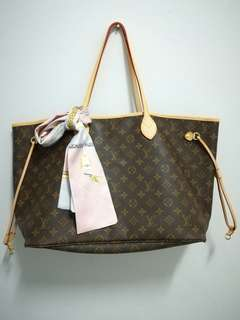 LV Neverfull GM#July 100